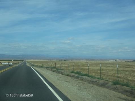 CA 99 nach Oakhurst
