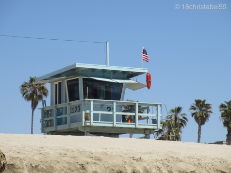 Lifeguard am Venice Beach