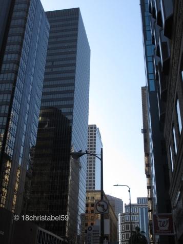 Skyscrapers rising high