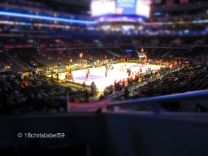 Staples Center inside