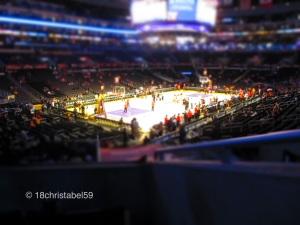 Staples Center inside