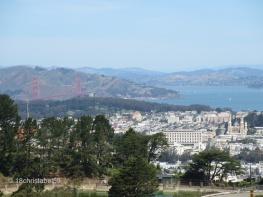 Golden Gate Bridge von Twin Peaks