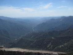 Blick nach Süden vom Moro Rock