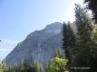 Glacier Point von unten