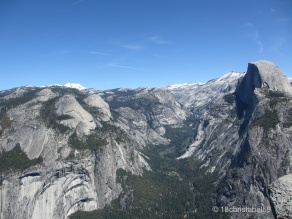 Glacier Point ins Tal