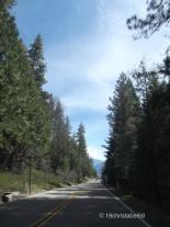 Weg im Kings Canyon