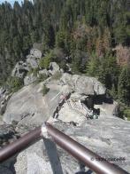 Moro Rock Aufstieg