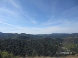 Auf dem Weg in Richtung Kings Canyon