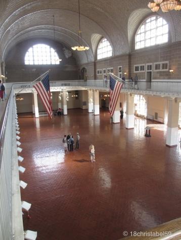 Registration Room auf Ellis Island