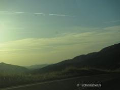 Sunset in Berge