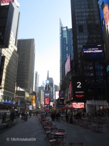 Times Square am Tag