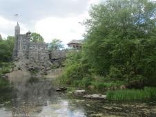 Turtle Pond mit Belvedere Castle