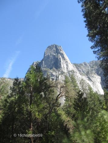 Vom Tal nach oben
