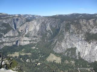 Yosemite Valley von oben