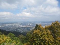 erster Blick auf Zürich