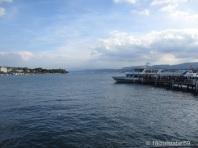 Anlegestelle für die Ausflugsboote