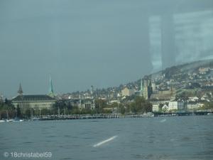 Stadtblick vom Züri-See aus