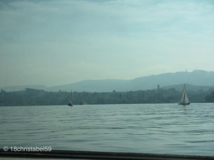 Fast auf Zürichsee-Level