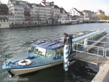 Bootshaltestelle Limmatquai