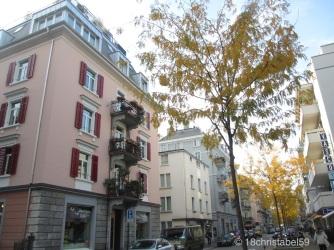 Nebenstraßen in Zürich