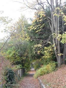 Fußweg um den Hügel