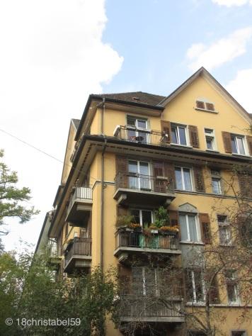 Zürichs Balkone