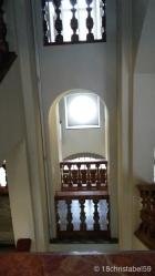 Treppenhaus in der Stiftsbibliothek