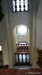 Treppenhaus in der Stiftsbibliothek St. Gallen