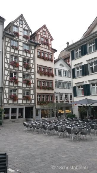 Sonnendeck in der Altstadt