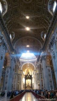 im St. Petersdom