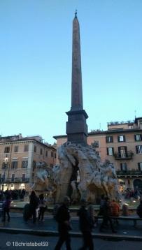 Brunnen auf dem Piazza Navonna