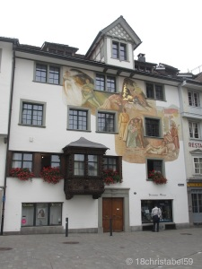 Erker in St. Gallen