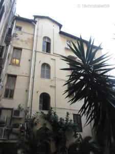 Innenhof von Hotel Rosetta