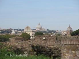 Blick auf Vatikan