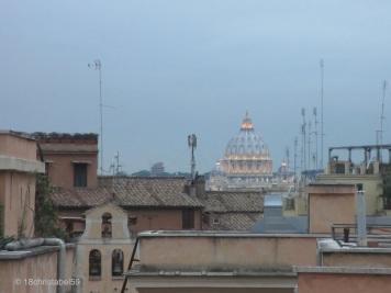 Vatikan vom Piazza Quirinale aus