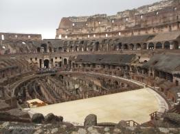 im Colosseum