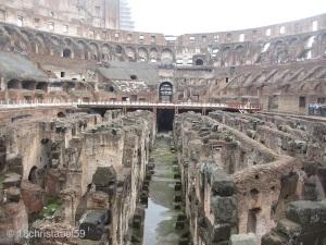 Kellergänge im Colosseo