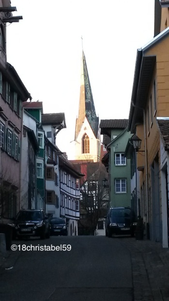 Altstadtgassen in Rottweil