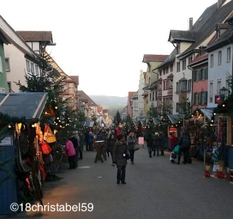 Hauptstraße in Rottweil
