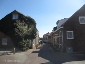 Gasse in Domburg