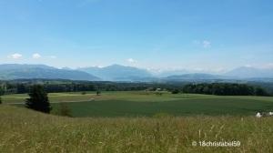 Schweizer Pampa mit Zuger See
