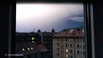 Gewitter über Zürich
