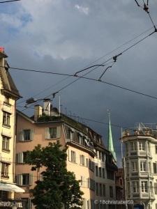 Am Central mit Blick ins Niederdorf