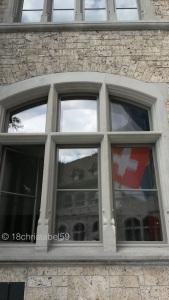 Nationalflagge am Landesmuseum