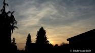 Polnischer Sonnenuntergang