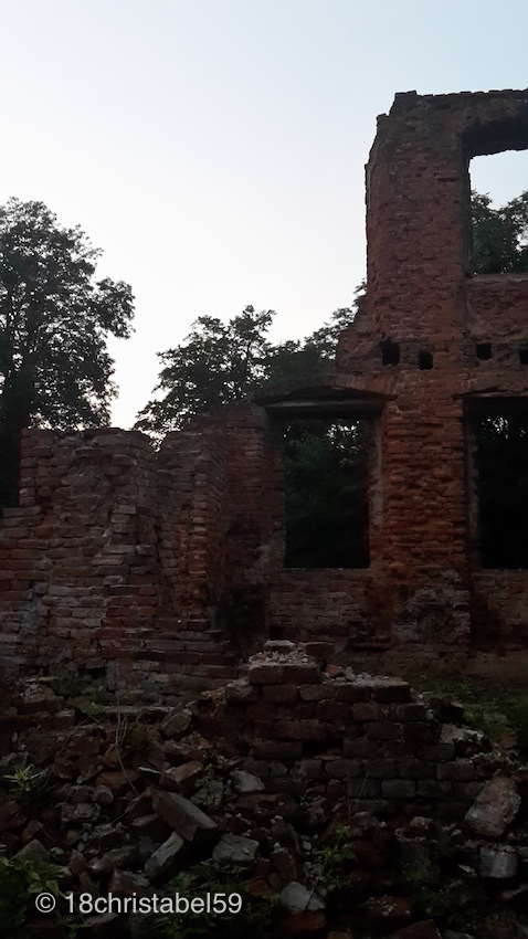 Ruine vom Schloss Eichendorff