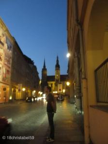 Bautzen bei Nacht