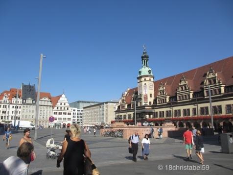 Marktplatz in Leipzig