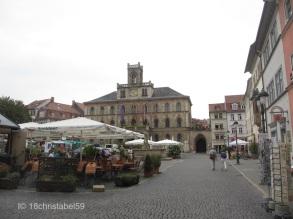 Marktplatz mit Rathaus, Weimar