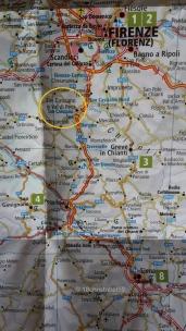 Unser Ziel in der Toscana